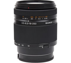 SONY SAL18250 18–250 mm f/3.5–6.3 Telephoto Zoom Lens