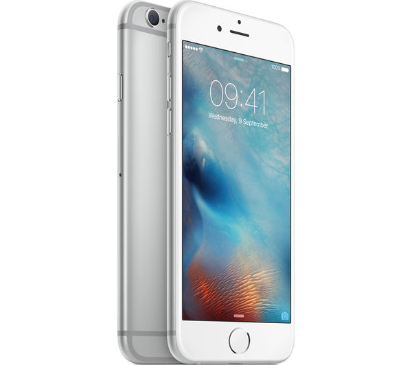 buy apple iphone 6s 32 gb silver free delivery currys. Black Bedroom Furniture Sets. Home Design Ideas