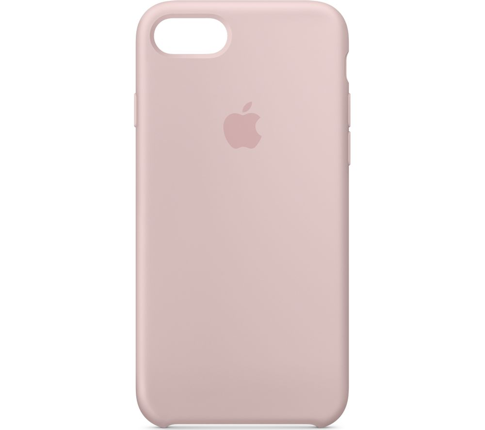 APPLE Silicone iPhone 7 Case - Pink Sand