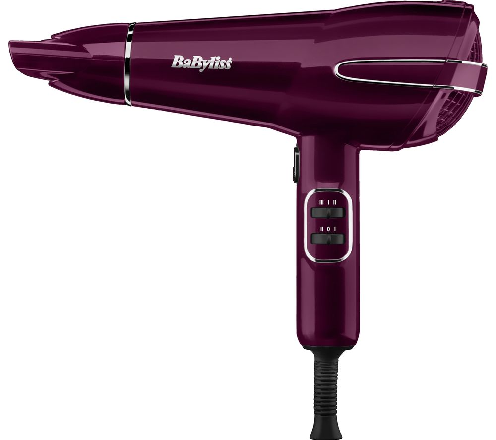 Image of BABYLISS Elegance 5560KU Hair Dryer - Berry