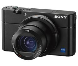 SONY Cyber-shot DSC-RX100M5 High Performance Compact Camera - Black