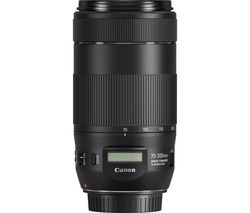 CANON EF 70-300 mm F/4-5.6 IS II USM Telephoto Zoom Lens