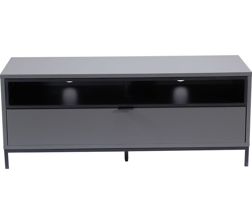 ALPHASON  Chaplin 1135 TV Stand  Charcoal Charcoal