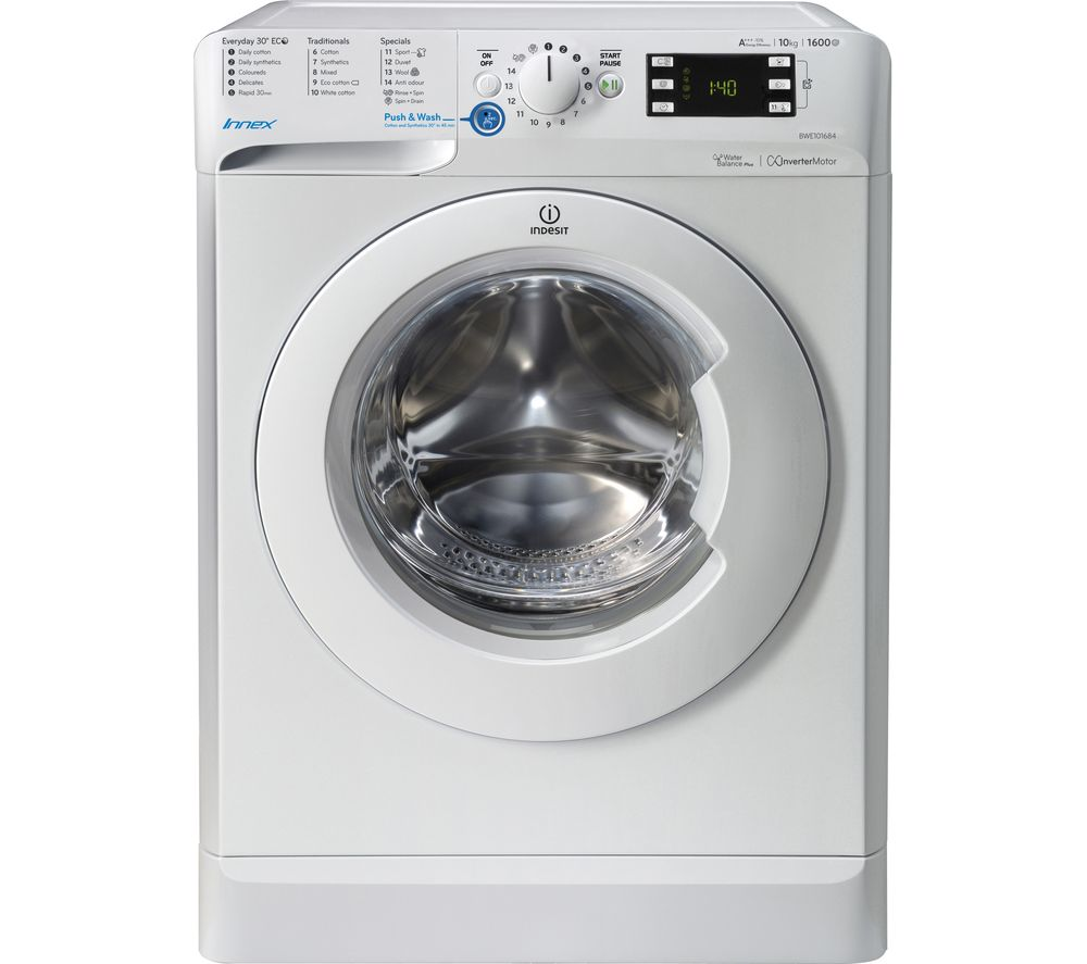 Buy INDESIT Innex BWE 101684X W Washing Machine - White ...