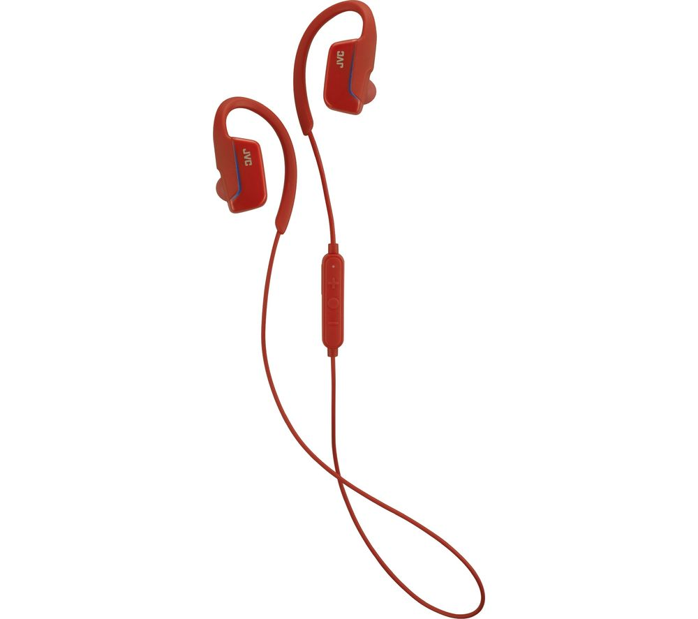JVC HA-EC30BT-RE Wireless Bluetooth Headphones - Red