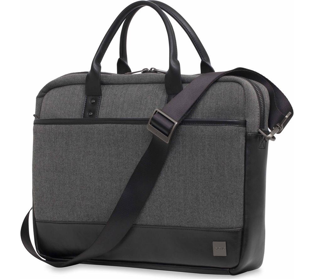 KNOMO Princeton 15.6 Laptop Bag  Grey Grey
