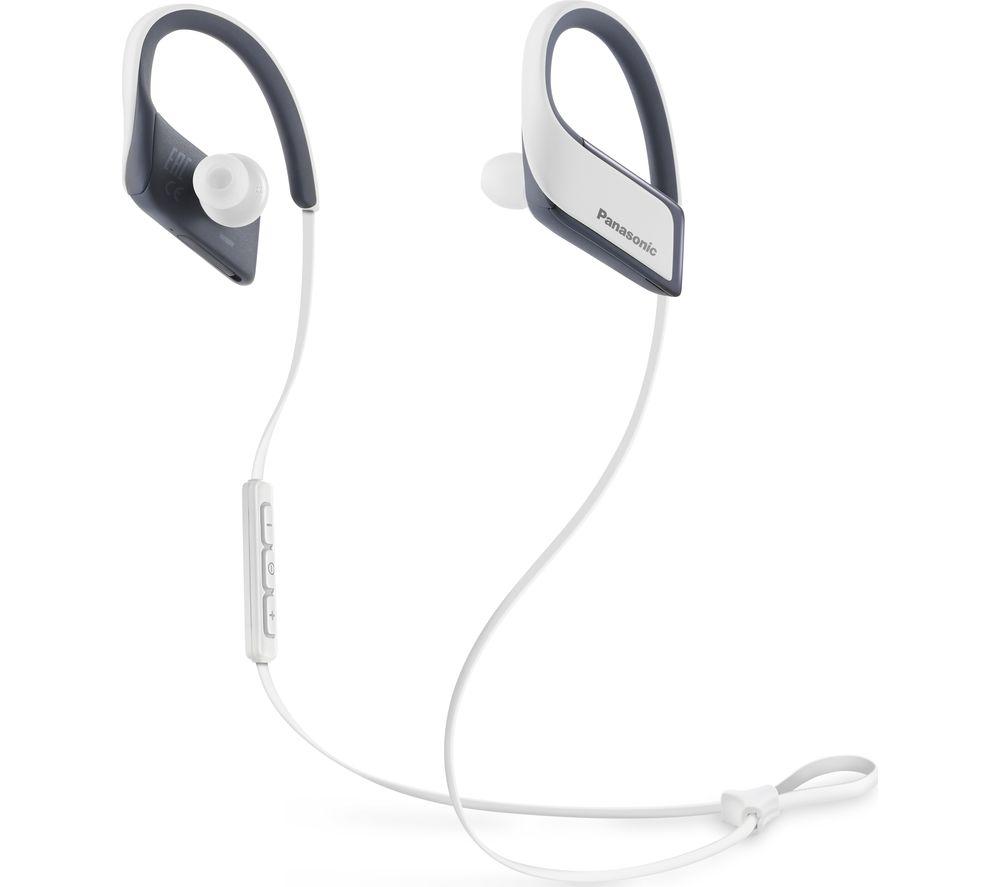 PANASONIC RP-BTS30E-W Wireless Bluetooth Headphones - White
