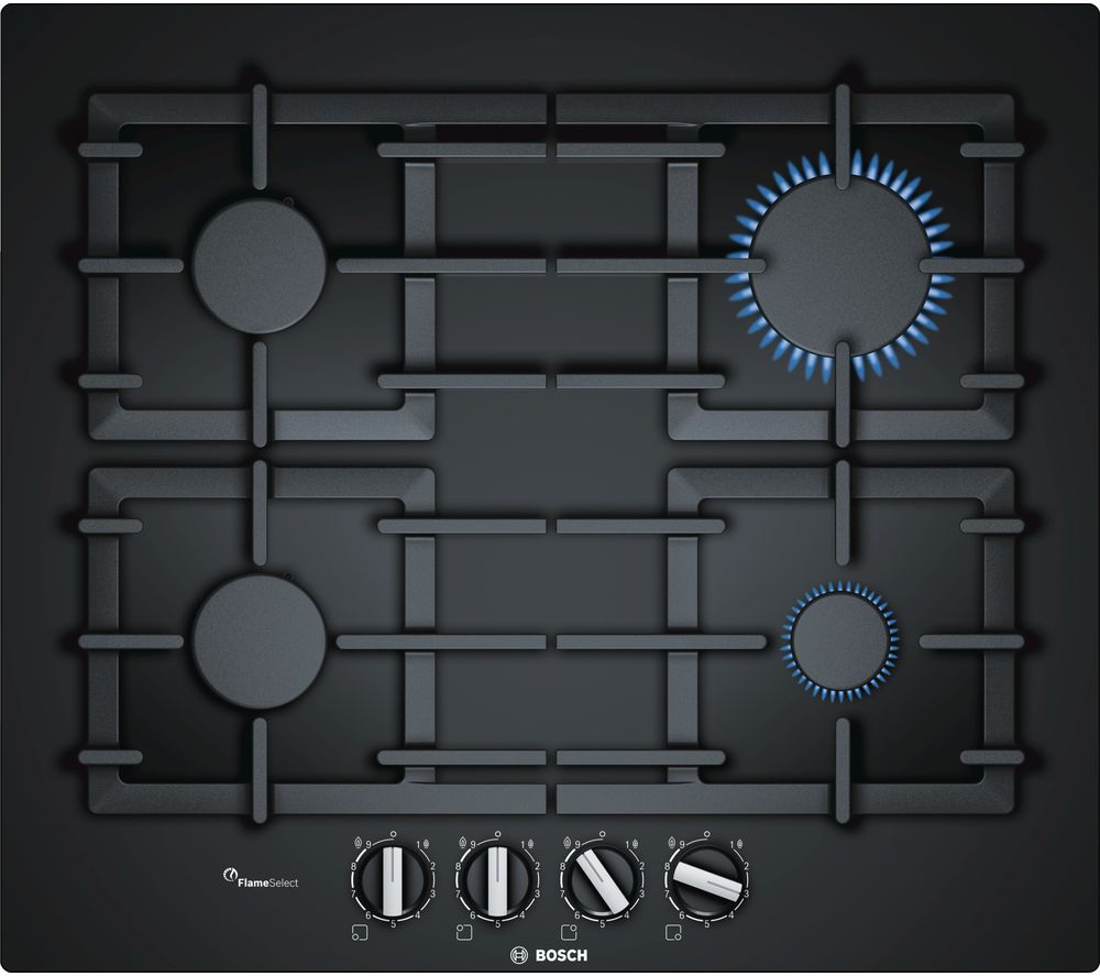 BOSCH PPP6A6B90 Gas Hob - Black
