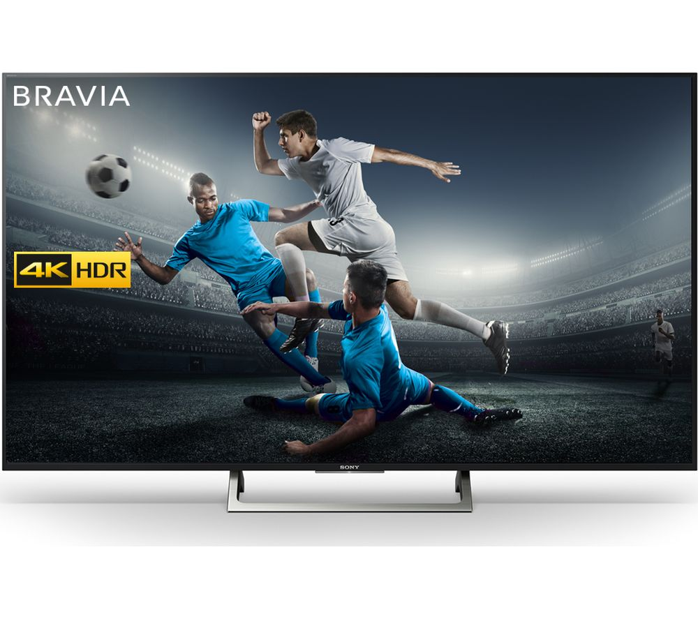 """SONY BRAVIA KD43XE8396 43"""" Smart 4K Ultra HD HDR LED TV + S1HDM315 HDMI Cable with Ethernet - 1 m"""