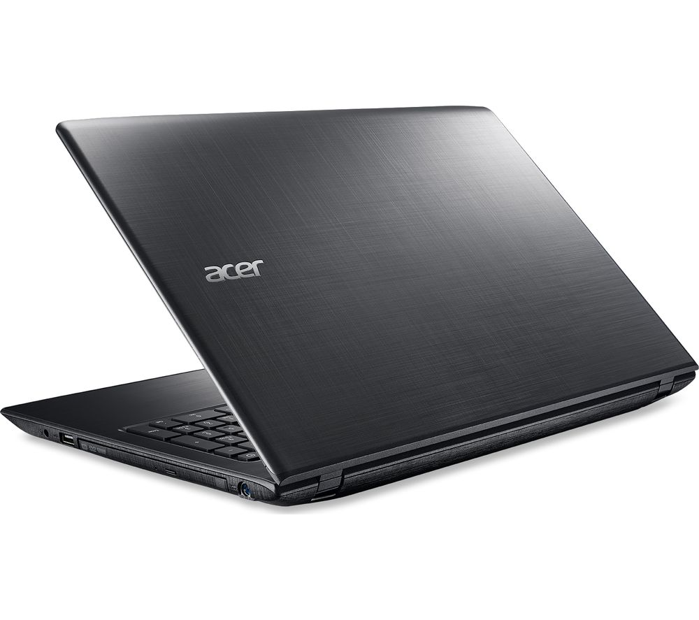 "ACER Aspire E5-575 15.6"" Laptop - Black + Office 365 Personal + LiveSafe Unlimited 2017 - 1 year"