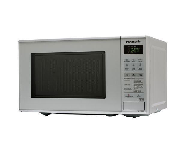 Panasonic NNK181MMBPQ Microwave with Grill  Silver Silver