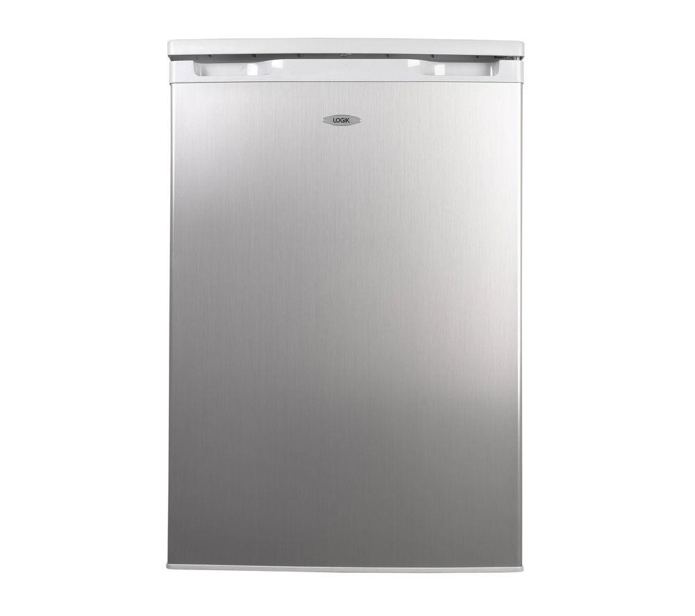 LOGIK LUF55S12 Undercounter Freezer - Silver