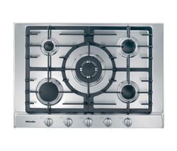 MIELE KM2032 Gas Hob - Stainless Steel