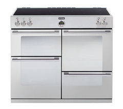 STOVES Sterling 1000Ei Electric Induction Range Cooker - Stainless Steel