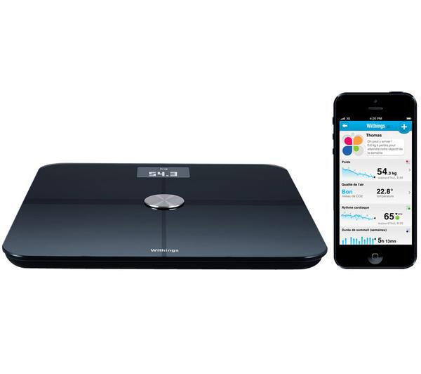 Withings WS-50 Smart Body Analyzer - Black, Black