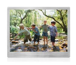 "SANDSTROM S10DPF13 10"" Digital Photo Frame - Silver"