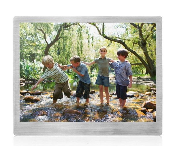 Sandstrom S10DPF13 10&quot Digital Photo Frame  Silver Silver