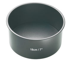 MASTER CLASS KCMCHB11 18 cm Non-Stick Cake Pan - Steel