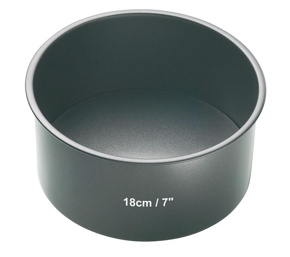 MASTER CLASS KCMCHB11 18 cm Non-Stick Cake Pan - Steel