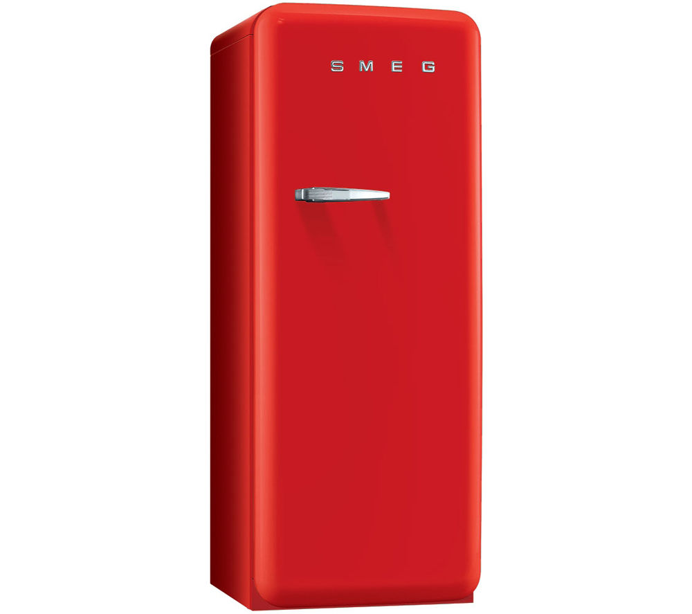 SMEG  FAB28QR1 Tall Fridge  Red Red
