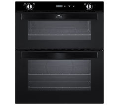 NEW WORLD NW701DOP Electric Built-under Double Oven - Black
