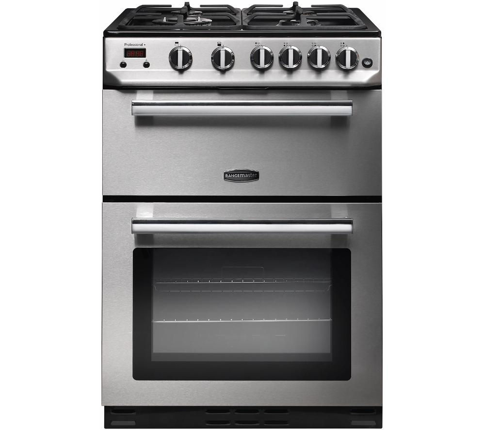 Rangemaster Professional 60 Gas Cooker Stainless Steel 10023996 Pdt on induction burner