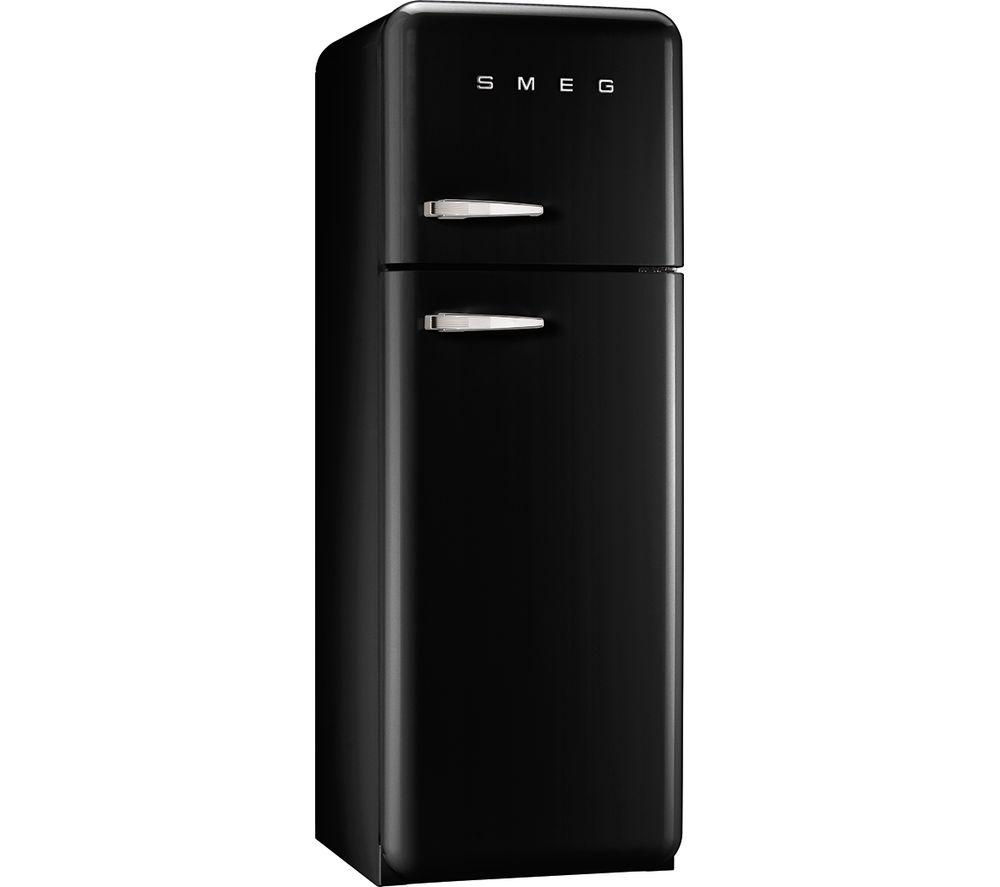 buy smeg fab30rfn fridge freezer black free delivery. Black Bedroom Furniture Sets. Home Design Ideas