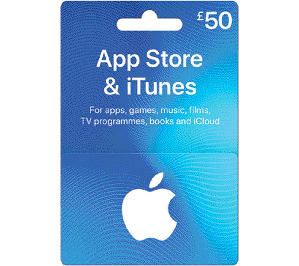 £50 iTunes Card
