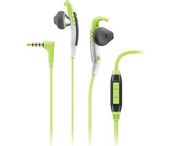 SENNHEISER MX 686G Headphones - Green & Grey