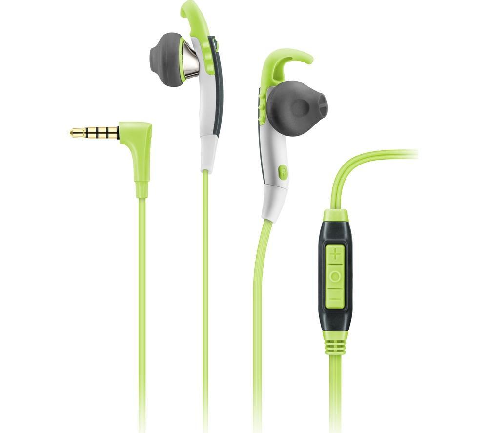 SENNHEISER MX 686G Headphones - Green & Grey