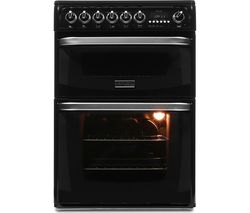 HOTPOINT CH60EKK Electric Ceramic Cooker - Black