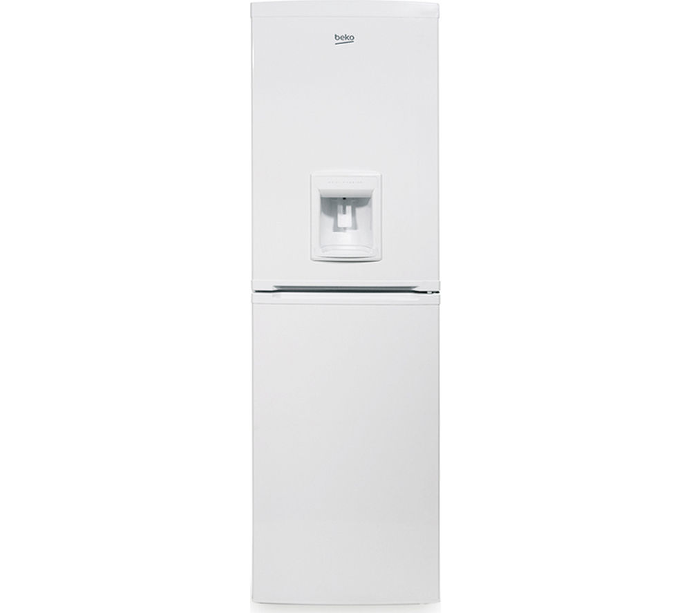 BEKO CXFD825W Fridge Freezer  White White