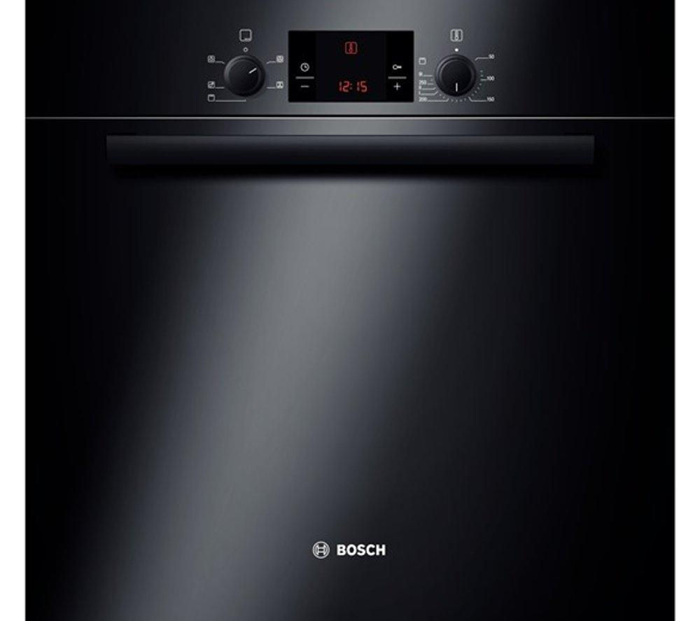 BOSCH  Classixx HBA13B160B Electric Oven - Black +  PKE645D17 Ceramic Hob – Black