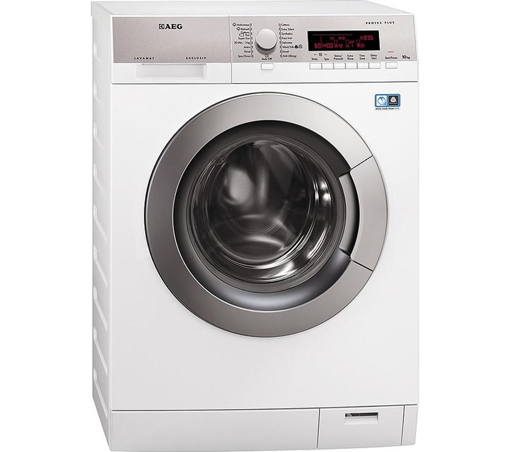 AEG L87405FL Washing Machine - White