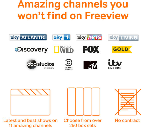 Image of NOW TV HD Smart TV Box - Entertainment Bundle