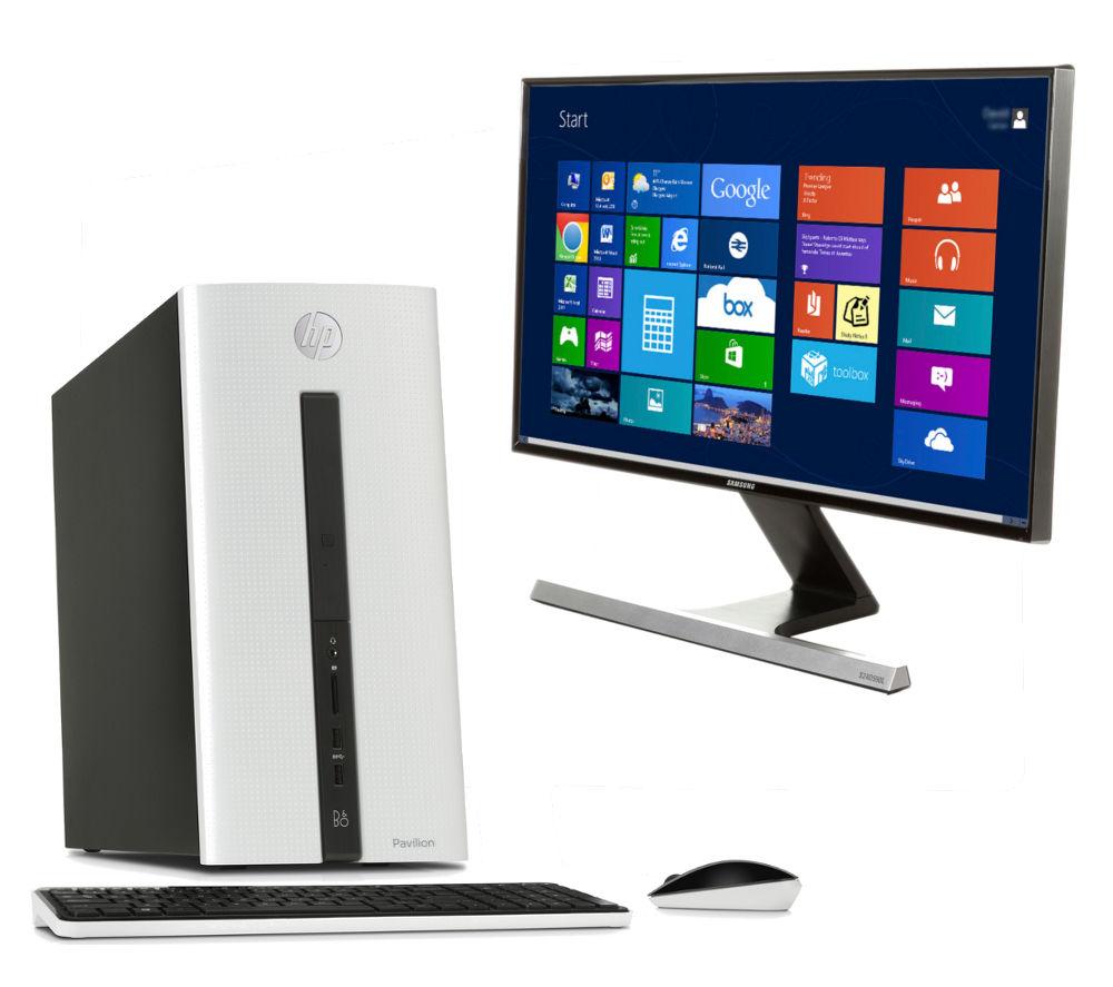 HP Pavilion 550153na Desktop PC & Monitor Bundle