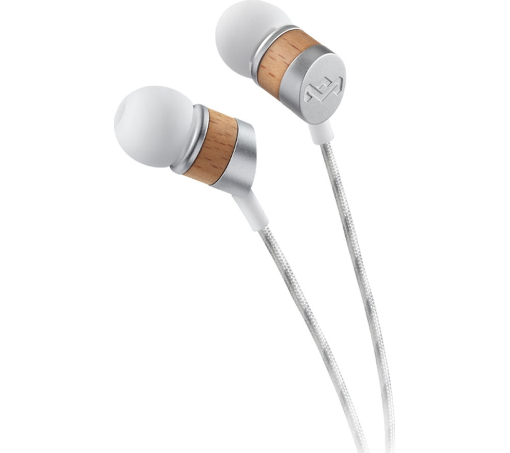 Click to view more of HOUSE OF MARLEY  Uplift V2 Headphones - Silver, Silver