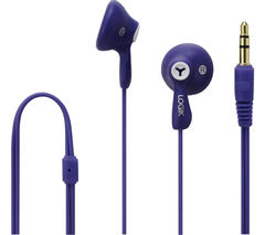 LOGIK Gelly LGELPUR16 Headphones – Purple