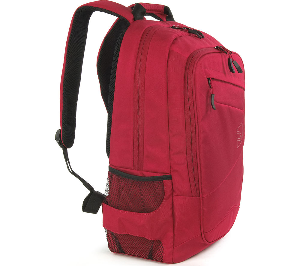 "Image of Tucano Lato 17"" Laptop Backpack - Red"