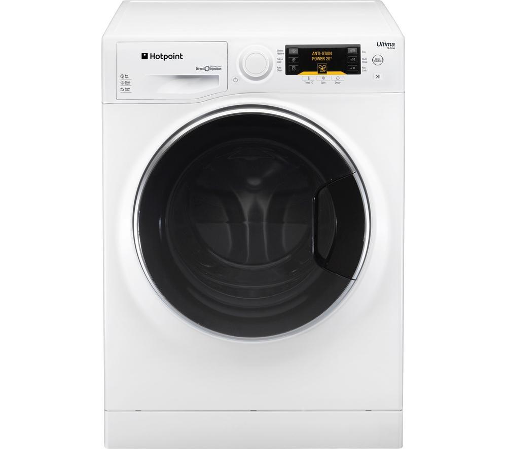 HOTPOINT  Ultima SLine RPD10477DD Washing Machine  White White