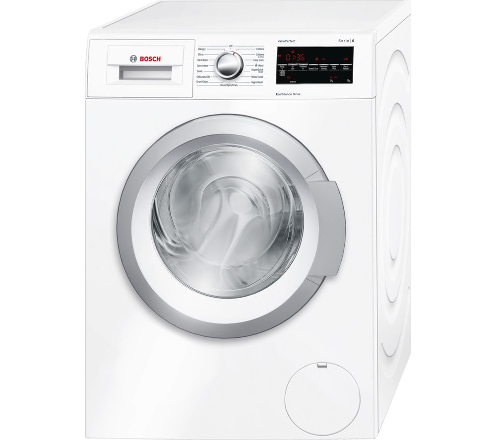 Buy BOSCH Serie 6 WAT24420GB Washing Machine - White ...