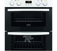 ZANUSSI ZOF35511WK Electric Built-under Double Oven - White