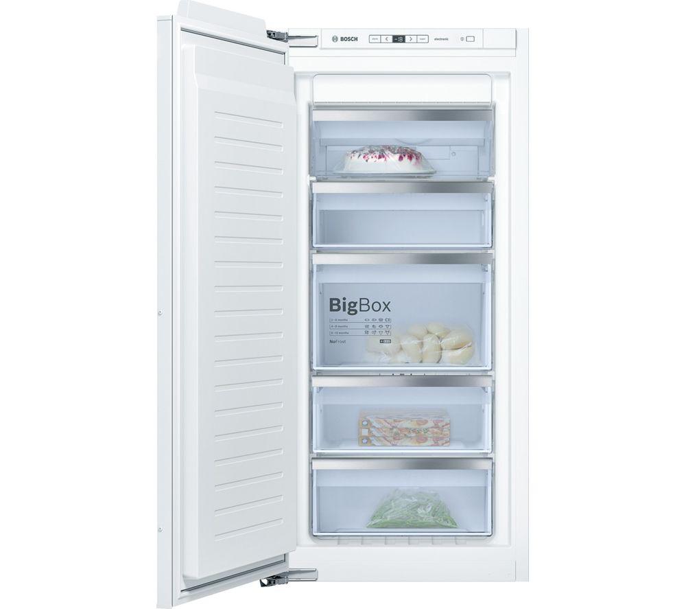 BOSCH GIN41AE30G Integrated Tall Freezer