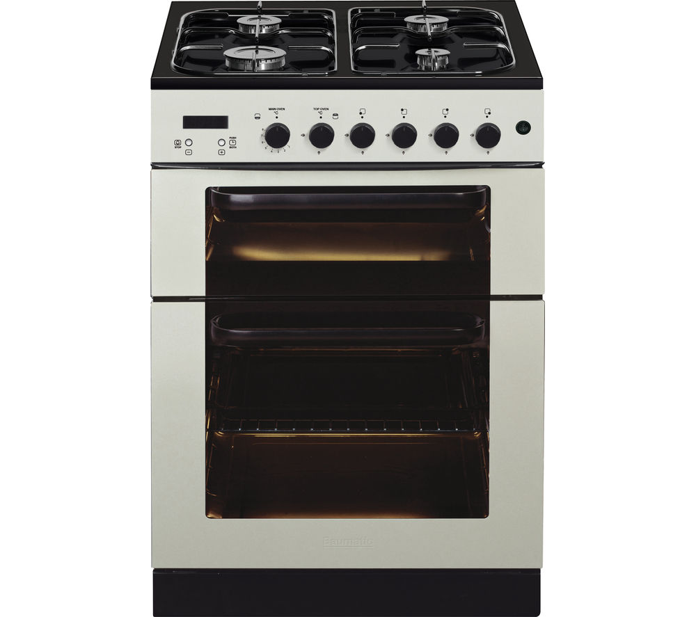 BAUMATIC BCG625IV Gas Cooker - Ivory