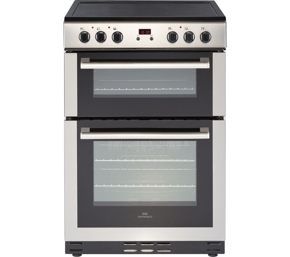 NEW WORLD NW 60EDOMC STA 60 cm Electric Ceramic Cooker - Stainless Steel