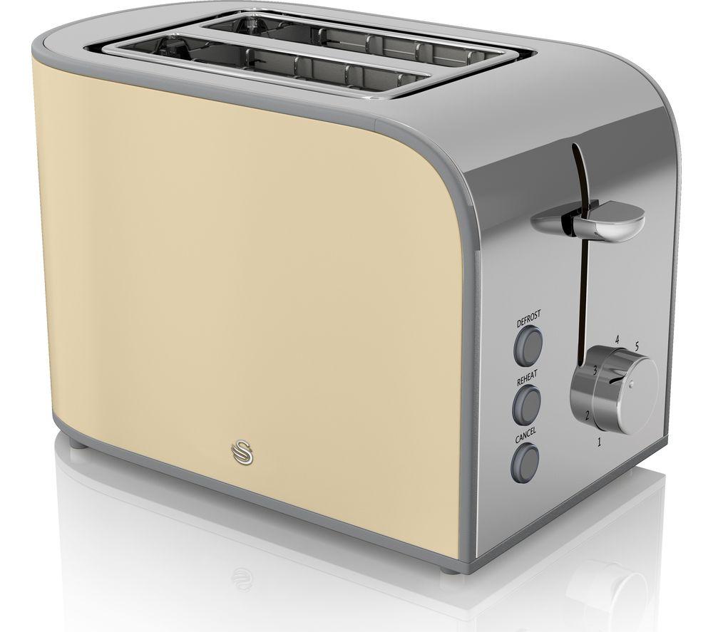 Swan 2 Slice Toaster Buy Swan Retro St17020cn 2 Slice