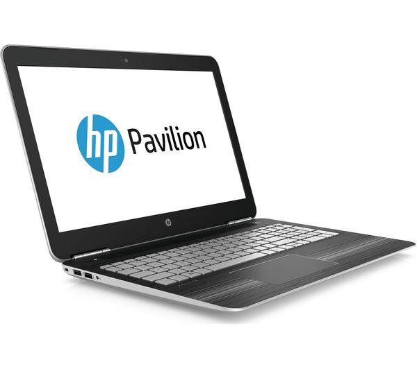 hp pavilion 15 bc251na 15 6 gaming laptop silver deals pc world. Black Bedroom Furniture Sets. Home Design Ideas