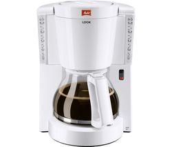MELITTA Look IV Filter Coffee Machine - White