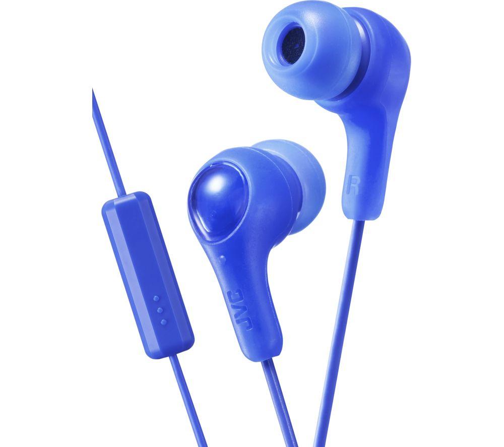 JVC HAFX5W Gumy Plus Inner Ear Headphones (White)