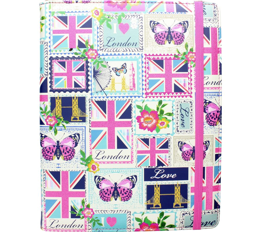 """Image of ACCESSORIZE Love London 10"""" Tablet Case"""